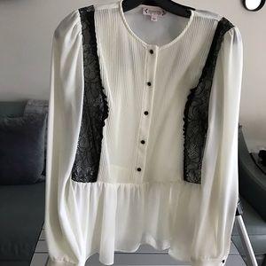 Nanette Lepore long sleeve blouse